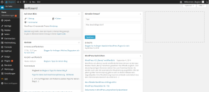 WordPress User-Interface